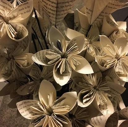 Jon Juravich student paper flowers