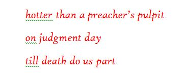 Hambrick preacher's pulpit haiku